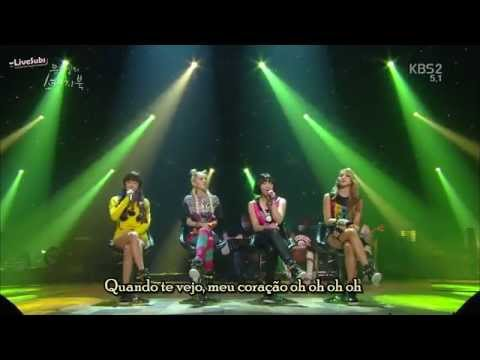 [PT-BR] 2NE1 – I am the best – Lonely – Falling in Love – Do you love me ~Live