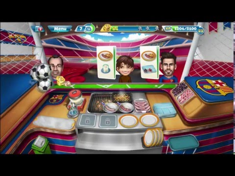 Cooking Fever: Barcelona Sports Bar Levels 4-5
