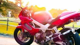8. Honda VTR1000f Super Hawk Reveal