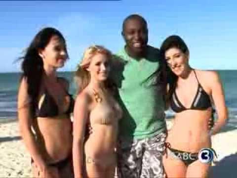 Simba explores Zanzibar with FHM models