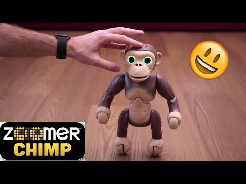 ZOOMER CHIMP: la SCIMMIA ROBOT Super Giocherellona