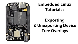 How to export and un-export device tree overlays on BeagleBone Black Debian 7.11 & 8.6.