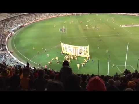 Hawthorn vs Sydney swans opening bounce round 18 2014