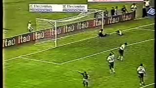 Brasileirão 1996 - Coritiba 0 x 1 Goiás - Estádio: Couto Pereira - Gol do Verdão: Jacques - Imagens: Globo ...