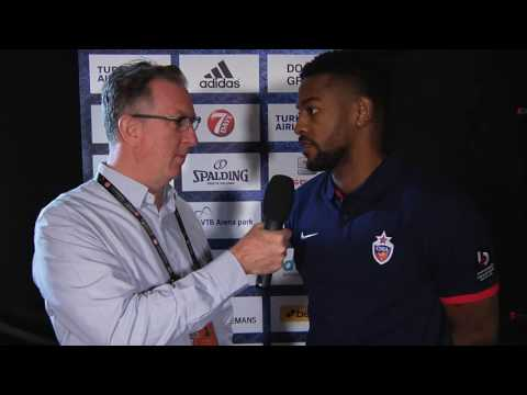 Pre-game Interview: Cory Higgins, CSKA Moscow