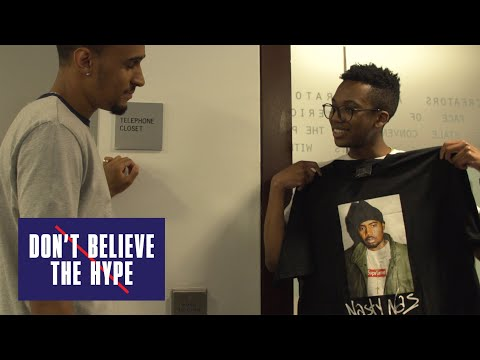 Supreme Nas T-shirt: Don't Believe The Hype (видео)
