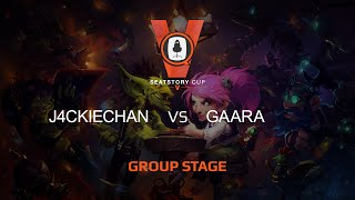 Gaara vs J4CKIECHAN, game 1