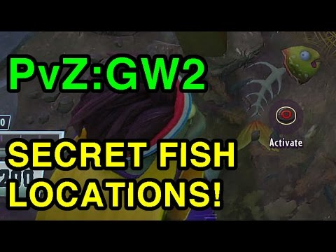 All 10 Secret Fish Clues Locations Plants Vs Zombies Garden Warfare 2 Wikigameguides