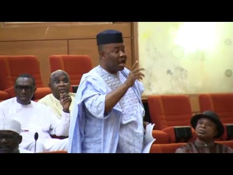 Download Saraki You Most Apologies to me-Sen. Akpabio, And The General Senate