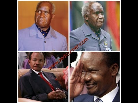 Fredrick Chiluba vs Kenneth Kaunda Fight for power