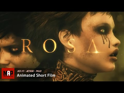 Rosa - ROSA is an epic sci-fi short film that takes place in a post-apocalyptic world where all natural life has disappeared. From the destruction awakes Rosa, a cy...