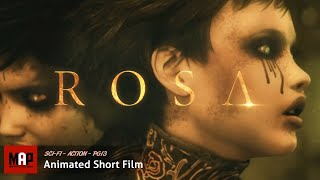 ROSA (HD) Epic AWARD Winning Matrix Style Fantasy Action Animated Film By Jesus Orellana