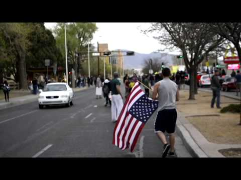 VIRAL: Marine and Soldier Take Back The American Flag