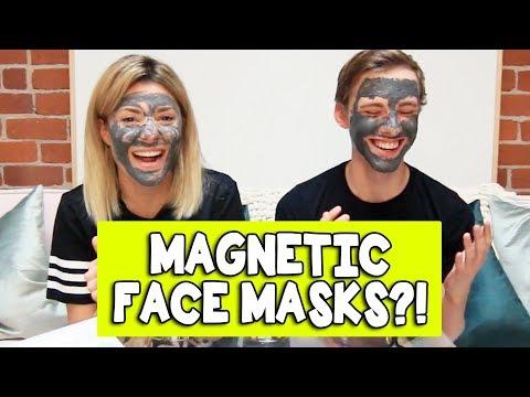 MAGNETIC FACE MASKS w/ JON COZART // Grace Helbig