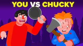 YOU vs CHUCKY -  How Can You Defeat and Survive It? (Child's Play Movie)