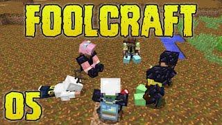 FoolCraft Modded Minecraft 05 Mob Farm Upgrades & Communal Meeting