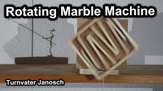 Rotating marble machine by Turnvater Janosch, YouTube video thumbnail