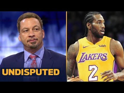 """UNDISPUTED - Broussard: TOR had """"Strong meeting"""" with Kawhi; Kawhi """"""""wants Lakers. LAC out"""""""