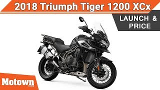 4. 2018 Triumph Tiger 1200 XCx | Launch & Price | Motown India