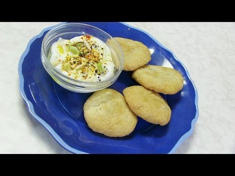 Dahitra Recipe Video - Indian Fried Biscuits - Gujarati Recipe by Bhavna