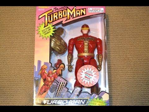 13.5″ Electronic Talking TURBOMAN FIGURE! Jingle All The Way WALMART Exclusive!Arnold Schwarzenegger
