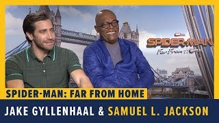 Jake Gyllenhaal and Samuel L. Jackson Talk SPIDER-MAN: FAR FROM HOME by Comicbook.com