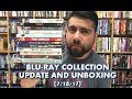 BLURAY COLLECTION UPDATE AND UNBOXING (7/18/17)