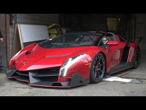 Lamborghini Veneno Red  photos