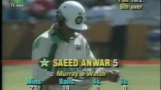 Video *LOWEST ODI TOTAL EVER* PAKISTAN all out 43 - vs WEST INDIES 1992/93 MP3, 3GP, MP4, WEBM, AVI, FLV Juni 2018
