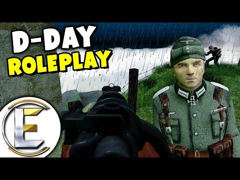 Stop Them Storming The Beaches - Gmod WW2 D-Day Roleplay (Secret British Intelligence) (видео)