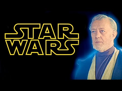 Sir Alec Guinness rare 1977 interview about Star Wars