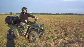 6. Kawasaki Prairie 360 4x4 - crazy ride