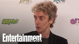 Doctor Who: Peter Capaldi Shares Advice He Gave Jodie Whittaker  SDCC 2017  Entertainment Weekly