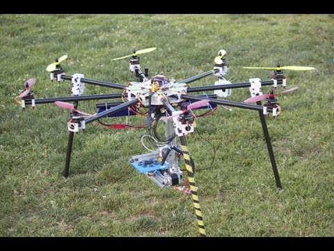 Flying 3D printer