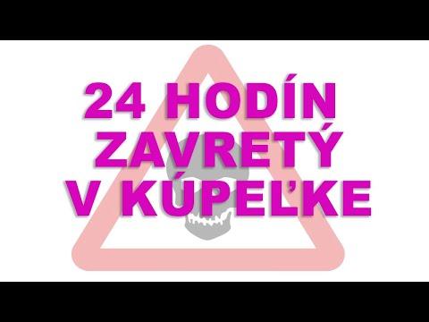 24 HODÍN ZAVRETÝ V KÚPEĽNI
