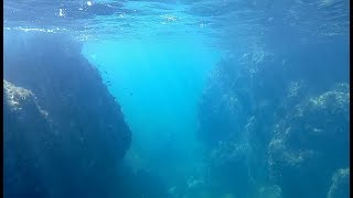 笹川流れ・馬下での水中遊泳2