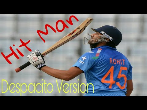 Video Despacito song dedicated to the legend Rohit Sharma | The Hit-Man 45  | HD download in MP3, 3GP, MP4, WEBM, AVI, FLV January 2017