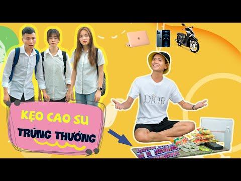 KẸO CAO SU TRÚNG THƯỞNG | Hai Anh Em Phần 212 | Phim Ngắn Hài Hước Hay Nhất Gãy TV