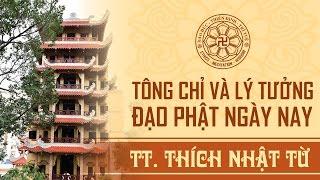 Tông chỉ và lý tưởng của Đạo Phật Ngày Nay - TT. Thích Nhật Từ
