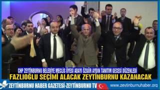 CHP Zeytinburnu Belediye MeclisÜyesi Adayı Özgür Aydın Seyitnizam Mahallesini Şaha Kaldırdı