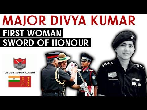 Major Divya Ajith Kumar | First Woman Sword of Honour | OTA Chennai
