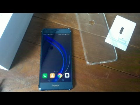 Huawei HONOR 8 Unboxing (Sapphire Blue)