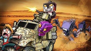 Minecraft   BUILD TO SURVIVE ALIENS - Alien Swarm Attacks! (Alien Challenge)