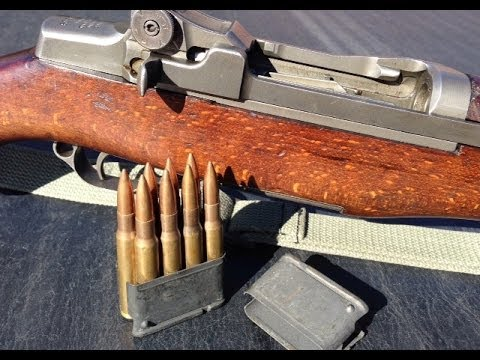 M1 Garand shot SUPER slow motion