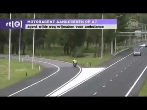 Motorcycle Fluorescent Gear Fail - Motorcycle Crash