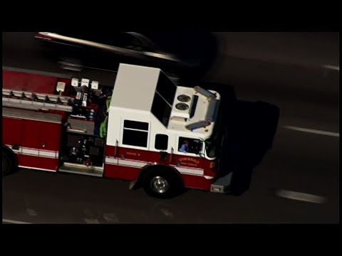 Church Shooting Victim Goes Home on Fire Truck