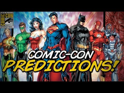 rumors - Matt breaks down all the announcements to come at this weekend's San Diego Comic-Con! Buy some awesomeness for yourself! http://www.forhumanpeoples.com/collections/sourcefed Our Sources:...
