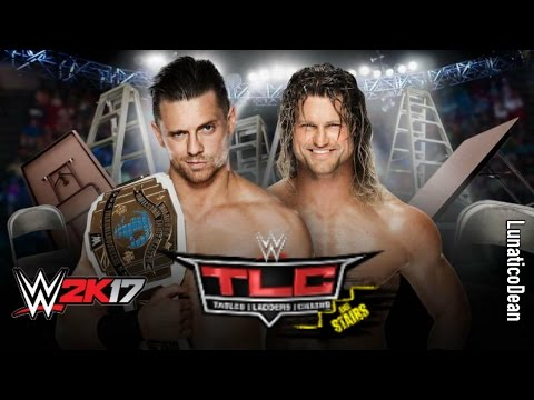 WWE TLC 2016 - The Miz vs Dolph Ziggler - Ladder Match [Intercontinental Championship] WWE 2K17