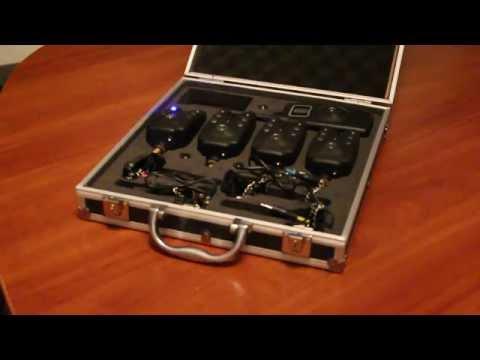 набор сигнализаторов поклевки с пейджером hoxwell hl80.79