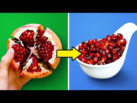 30 Dicas Práticas Para Descascar E Cortar Frutas